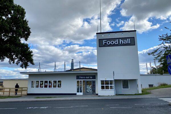 Food hall, Stockholm Quality Outlet, 2021-09